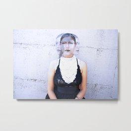 Futurist portrait Metal Print