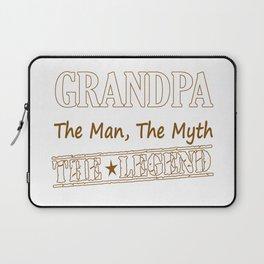 Grandpa The Legend Laptop Sleeve