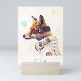 Star Team - Fox Mini Art Print