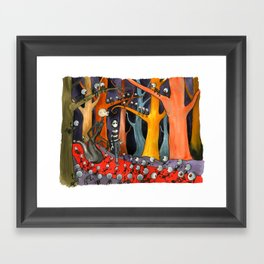 The Forest of Mirrors Framed Art Print