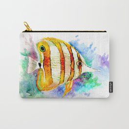 Coral Aquarium Fish, Angelfish Carry-All Pouch
