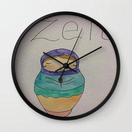 Keepin' it Zen Wall Clock
