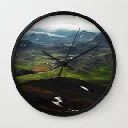 þórsmörk I Wall Clock