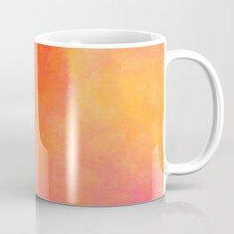 Texture orange kisses pink Coffee Mug