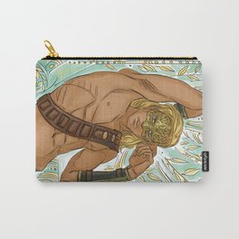 Fae-gold mask Carry-All Pouch