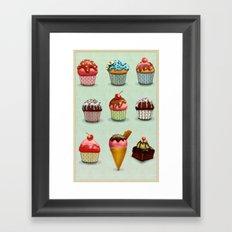 Muffins Framed Art Print
