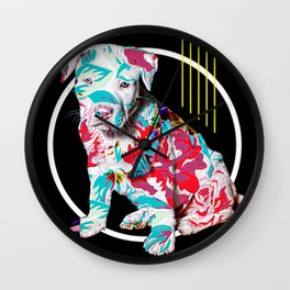 BRAD PITT-BULL Wall Clock