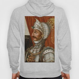 Vintage William The Conqueror Painting Hoody