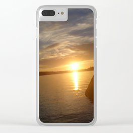 Maine series Clear iPhone Case