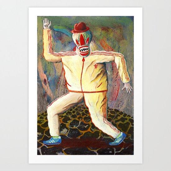 adi hustler Art Print