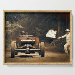 Hot Rod Racing Serving Tray