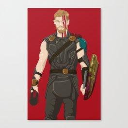 god of what? Lightening. Canvas Print