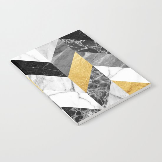 Marble Pattern Notebook