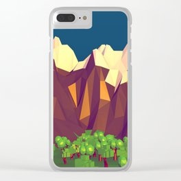 Mountains G46V Clear iPhone Case