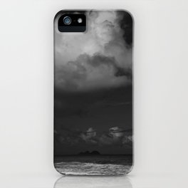 Dark Island Day iPhone Case