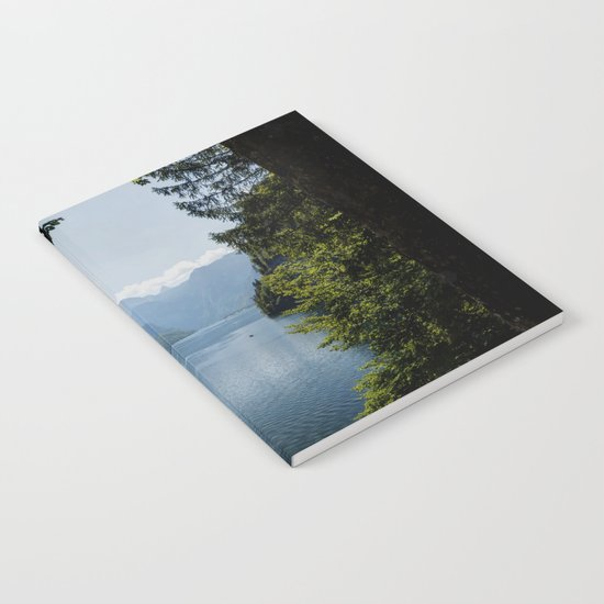 Germany, Malerblick, Mountains - Alps Koenigssee Lake Notebook