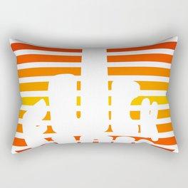 Rude sunset Rectangular Pillow