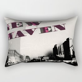 Gun Wavin, New Haven Rectangular Pillow