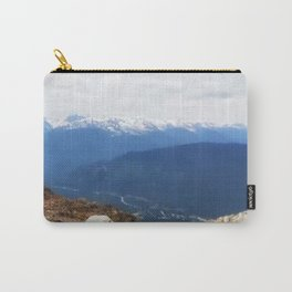 Many layers of a mountain view Carry-All Pouch