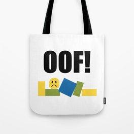 Roblox Oof Tote Bag