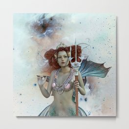 Space Siren: Mermaids of the Sky Metal Print