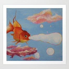 candy cloud Art Print