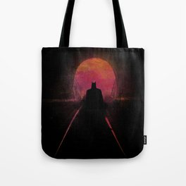 Bat-man: The dark hero Tote Bag
