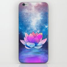 magic lotus flower iPhone Skin