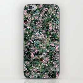 Pink Berry Pattern iPhone Skin