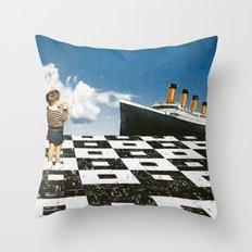 Ahoy, Sir! Throw Pillow