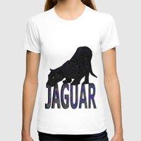 jaguar T-shirts featuring Jaguar by Ben Geiger