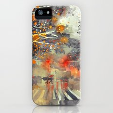 WINTER IN THE CITY iPhone (5, 5s) Slim Case