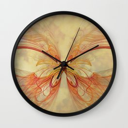Papillon Wall Clock