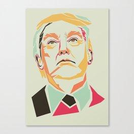 Donald Trump Pop Art Canvas Print