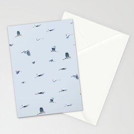 Blue Blue Heron Stationery Cards