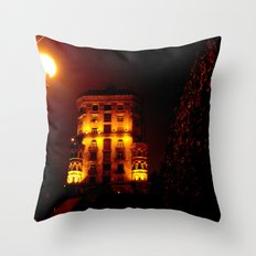 Night Crest 6 Throw Pillow