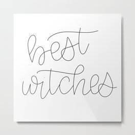 Best Witches Metal Print