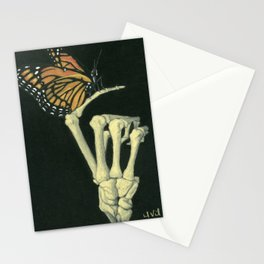 Butterfly & Bones Stationery Cards