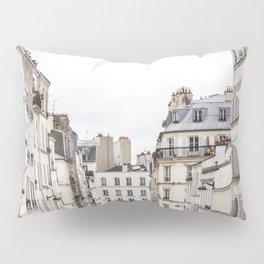 Montmartre View of Paris  Pillow Sham
