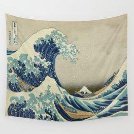 Great Wave of Kanagawa Wall Tapestry