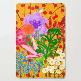 flower bomb Cutting Board
