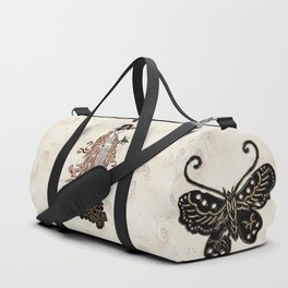 Madame Butterfly Duffle Bag