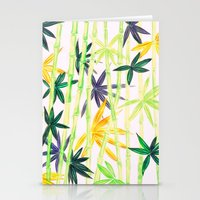 bamboo Stationery Cards featuring Bamboo by Federico Faggion