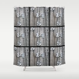 14 Over 9(2) Shower Curtain