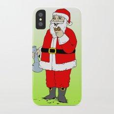 Santa Slim Case iPhone X
