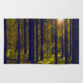 Green Forest #decor #society6 Rug
