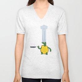 Turtle4 Unisex V-Neck