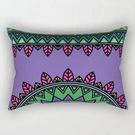 dp058-4 Ethnic mandala Rectangular Pillow