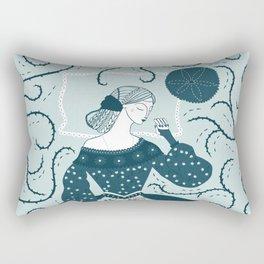 Little Briar Rose Rectangular Pillow