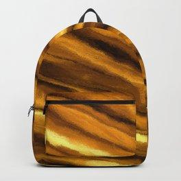 Soft, Amber Strands Backpack